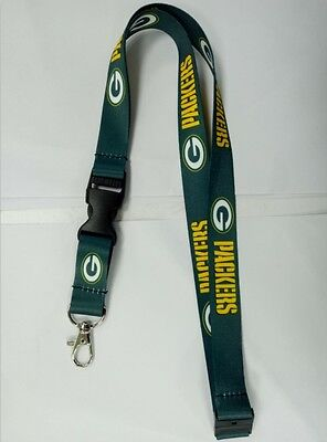 Green Bay Packers Double - Sided Quality NFL Lanyard - Australian Stock
