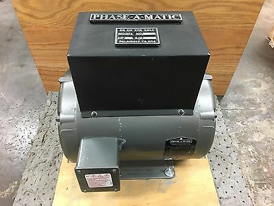 Phase-A-Matic 10HP Rotary Phase Converter 220V 60Hz R-10