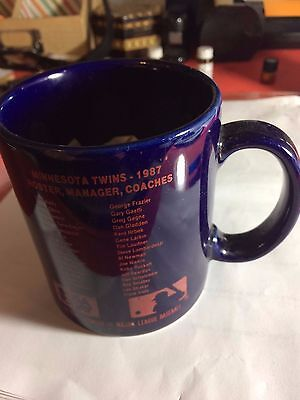 Twins 1987 World Series Mug