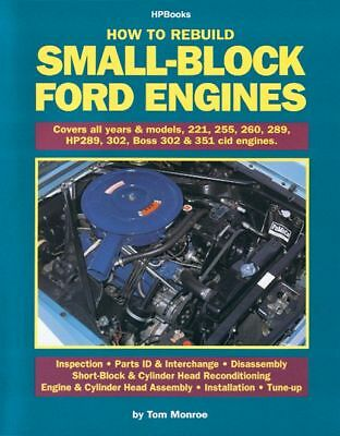 HP Books How to Rebuild Small-Block Ford Engines P/N HP89