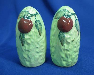 Carlton Ware Tomato Salt And Pepper Shakers