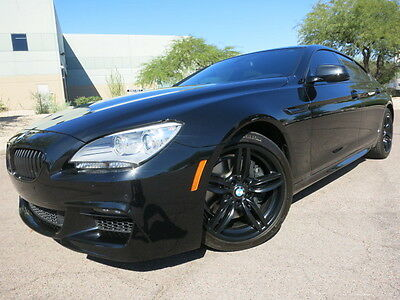2013 BMW 6-Series 650i Gran Coupe Custom Blacked Out Loaded Car M Sport Package $95k MSRP 2014 2012 2015 m6