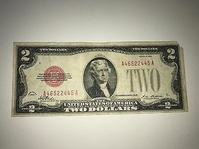 1928 $2 United States Note