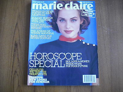 Marie Claire - July 1992 - Uk Edition - Diana Dors, Winnie Mandela