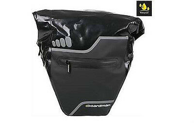 Chris Boardman PVC Waterproof Bicycle Cycle Single Pannier Luggage Bag