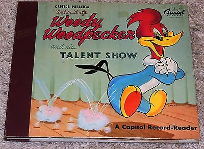 Walter Lantz Woody Woodpecker And His Talent Show 2 Record Book 1949