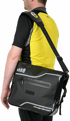 Chris Boardman PVC Waterproof Bicycle Cycle Messenger Laptop Sports Luggage Bag