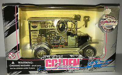 Golden Classics Pepsi Cola Coin Bank 1910's 1920's Delivery Truck MIB 1996