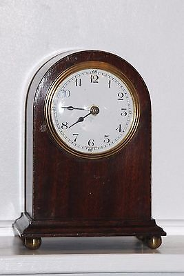 Antique French Mantle Clock Case With A Quartz Movement Fitted