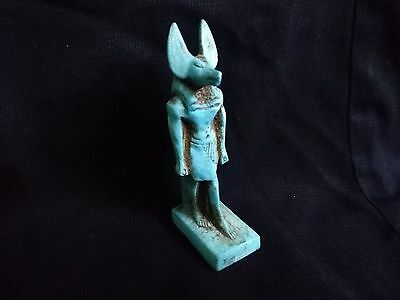 Ancient Egyptian statue of god Anubis (1390-1352 B.C)