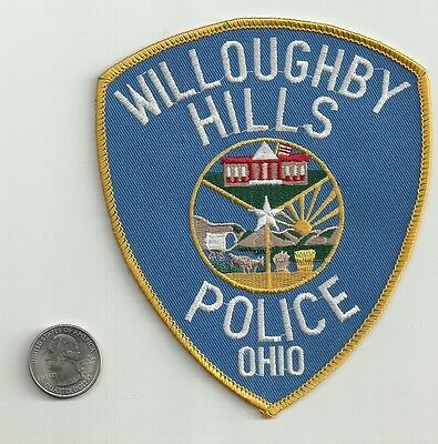 Willoughby Hills, Ohio Police Department Patch, New