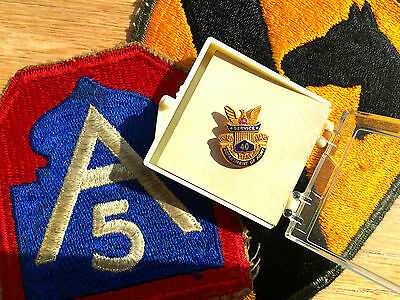 Department of the Army, 40 Year Ruby Service Award LAPEL PIN, hard-to-find