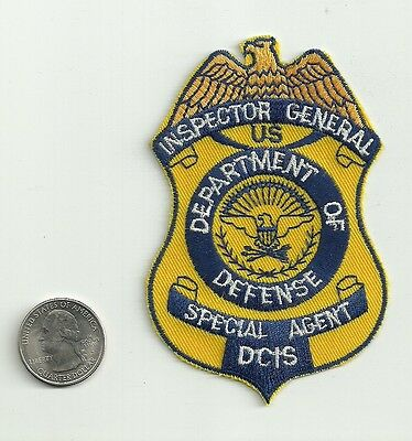 Inspector General Dept. of Defense Special Agent Patch, New