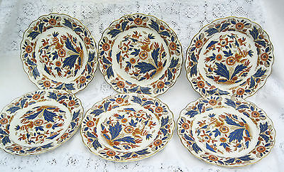 Antique Booths Dovedale Imari Gold C1912 8.5 ins