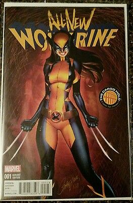 All-New Wolverine #1 Cargo Hold Variant J. Scott Campbell Cover NM
