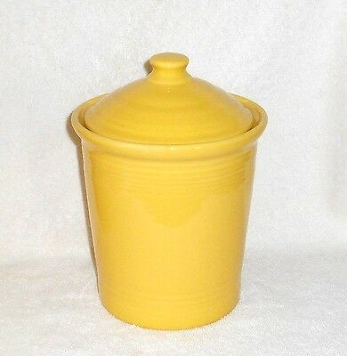 Large Fiesta Ware Sunflower Canister