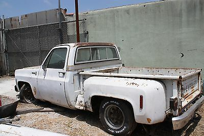 1977 Chevrolet C-10  1977 C10 Step Side Runs and Drives good but needs body panels