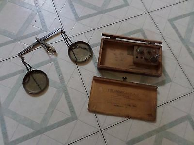 William Dixon Inc The American Scale Balance Scale As Is