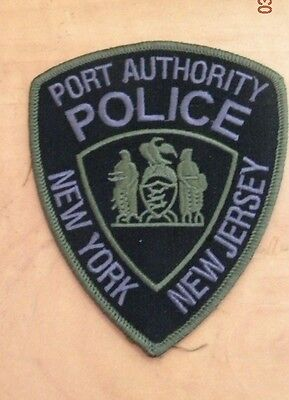 PORT AUTHORTY OF NY/NJ SUBDUED / TACTICAL PATCH PAPD not NYPD