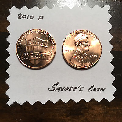2010 Lincoln Shield Cent Penny - Uncirculated! Fast Shipping!