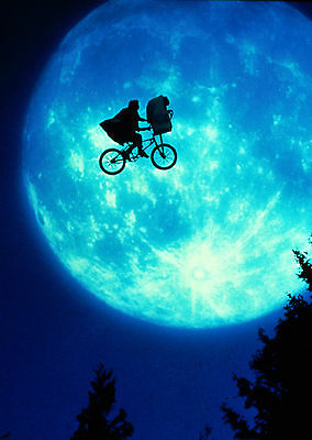 E.T. the Extra-Terrestrial (1982) V2 - A2 A3 A4 POSTER *RETOUCHED AND RESTORED*