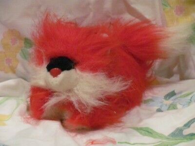 Vintage Plush Stuffed Red Fox (Really Red) M S Toy Bristol VA