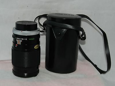 Canon Lens FD 135mm 1:2.5 S.C. with Caps for Canon 35mm Film SLR Cameras
