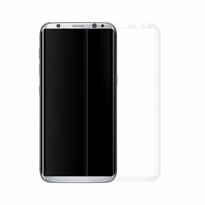 3D Full Coverage Tempered Glass Screen Protector for Galaxy S8 Transparent