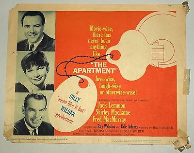 Theatre Lobby Card - The Apartment