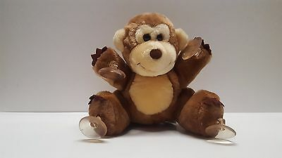 Vintage Dakin Plush suction cup Hang in There monkey