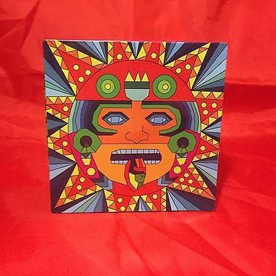 Patron Tequila Aztec Inspired Limited Edition Collectors Tin Box Rare!