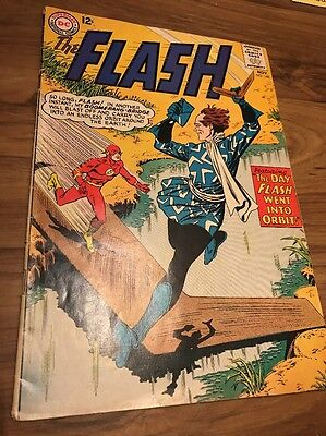 #148 - The FLASH - The Day Flash Went Into Orbit! - DC 1964