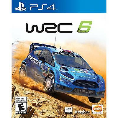 WRC 6 FIA World Rally Championship (PlayStation 4) ***BRAND NEW & SEALED!*** ps4