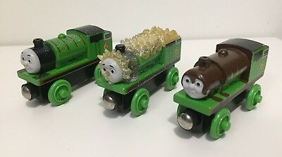 Thomas Friends Wooden Railway Adventures Of Percy Jack Frost Chocolate Coal