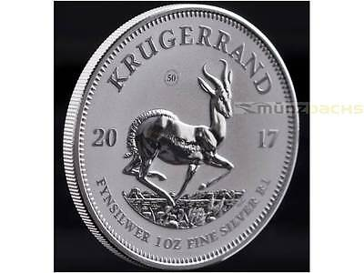 50th Anniversary Krugerrand South Africa 1 oz Silver 2017 PU