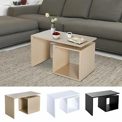 77cm MDF Coffee Table Sofa Ottoman Tray Organizer Room Console End TV Stand
