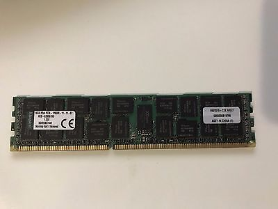 Kingston 16GB DIMM Memory Module Reg ECC DDR3 1600MHz PC312800 (KCS-B200B/16GB)