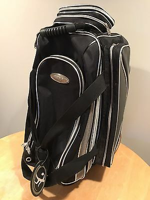 Elite Double Platinum  Roller Bowling Bag Preowned