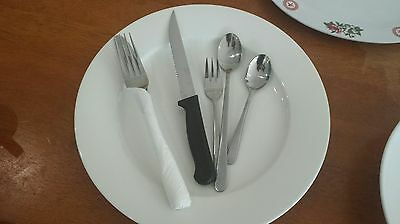 Selling in single lot - Plates,Cutlery, etc