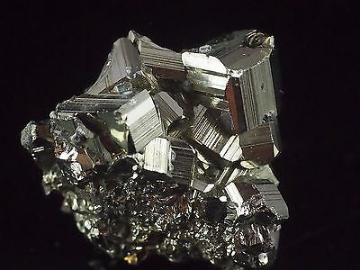 Pyrite Crystal Cluster from Racracancha mine, Peru. 24 grams.