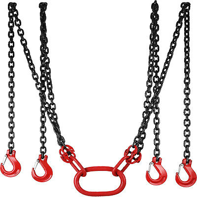 3m Lifting Chain Sling 5 Tonne with 4 Legs Heavy Duty