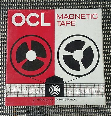 OCL magnetic tape as new blank 5 3/4 inch