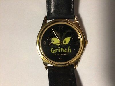 Dr. Seuss The Grinch Who Stole Christmas Wrist Watch