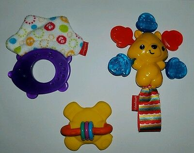 x3 BABY TEETHERS***EXCELLENT CONDITION...LIKE NEW***