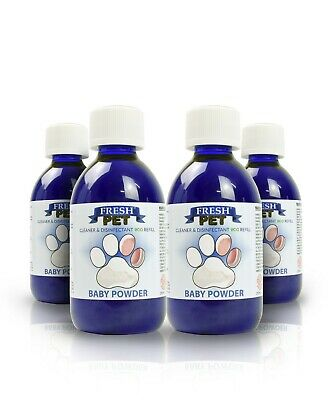 Fresh Pet Disinfectant Cleaner Eco-Refill Concentrate Makes 4X5L  Baby Powder