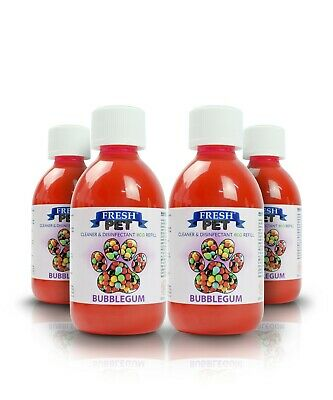 4 X 5L Eco-Refill Bubblegum - Super Concentrated - Kennel Cleaner Disinfectant