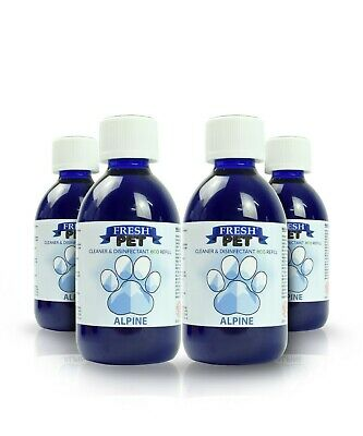 Fresh Pet Disinfectant Cleaner Eco-Refill Concentrate Makes 4X5L  Alpine