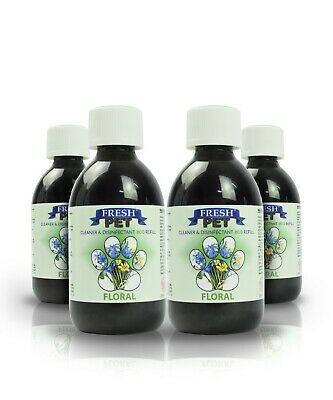 4 X 5L Eco-Refill Fresh Pet Super Concentrate - Kennel Disinfectant - Floral