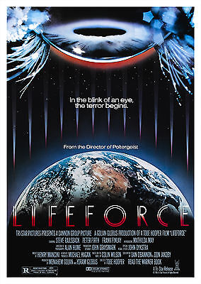 Lifeforce (1985) V2 - A2 A3 A4 POSTER ***RETOUCHED AND RESTORED***
