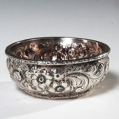 Dominick & Haff Sterling Silver Repousse Finger Bowl For Bigelow Kennard Boston